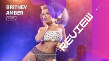 Britney Amber Sleeve Review - Feel Stars by Kiiroo